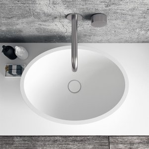 Spoon 52 - 52x38 Massiv Matt White SolidTec®