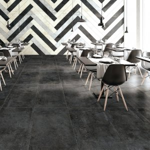 Noormood Black Concrete CHA50N 120x60